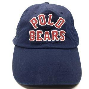 Ralph Lauren Polo Hat Baseball Cap Adjustable Back